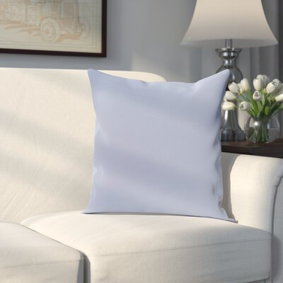Georgia Outdoor Throw Pillow Color: Cornflower, Size: 20 H x 20 W x 1 D