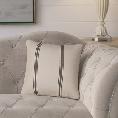 Boucher Throw Pillow Color: Slate
