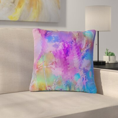 Malia Shields Painterly Foliage Series 3 Outdoor Throw Pillow Size: 16 H x 16 W x 5 D