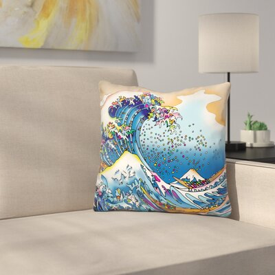 Great Wave Throw Pillow