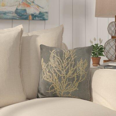 Buchheit Algae on Throw Pillow