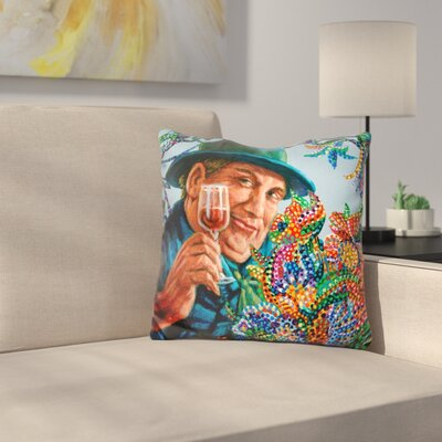 A Lovely Bouquet Throw Pillow