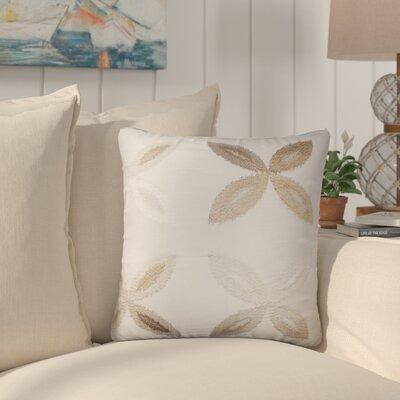 Bahama Ikat Throw Pillow Color: Tan