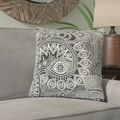 Kara Geometric Cotton Throw Pillow