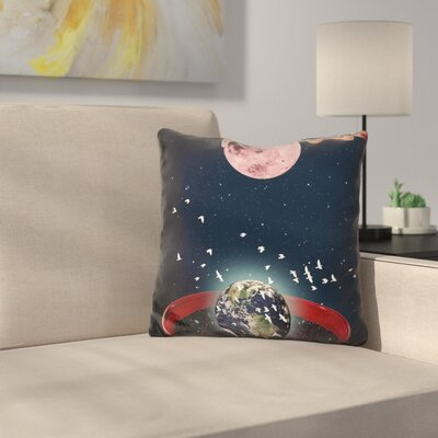 The Creation of The Universe Throw Pillow