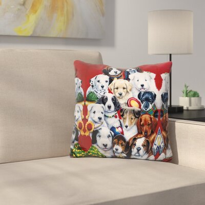 Picture Day Throw Pillow