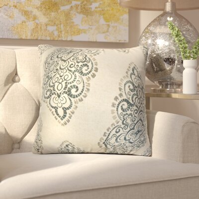 Amaratha Geometric Cotton Throw Pillow