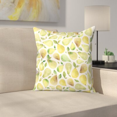 Elena ONeill Pears Throw Pillow Size: 16 x 16