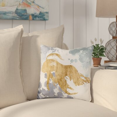 Canchola Gilded Throw Pillow
