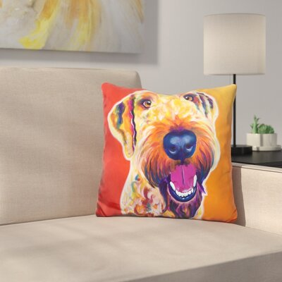 Ai Oodle Hank Throw Pillow
