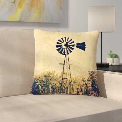 Sylvia Coomes We are in Kansas Travel Outdoor Throw Pillow Size: 18 H x 18 W x 5 D