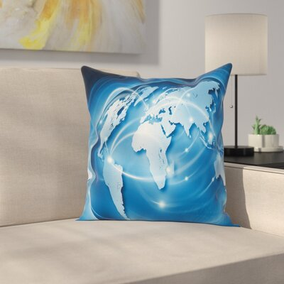 Global Commerce Network Square Pillow Cover Size: 16 x 16