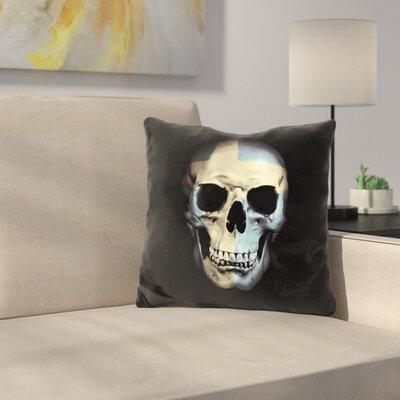 Manor Swedish Skull Throw Pillow