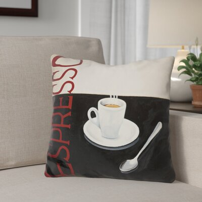 Geraldton Cafe Moderne Throw Pillow