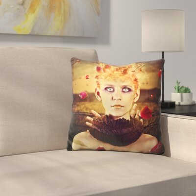 Enjoy the Silence Throw Pillow