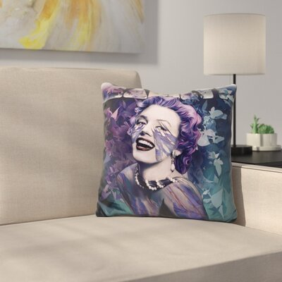 Norma Jean Throw Pillow