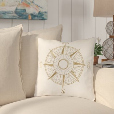 Albreda Compass 100% Cotton Throw Pillow