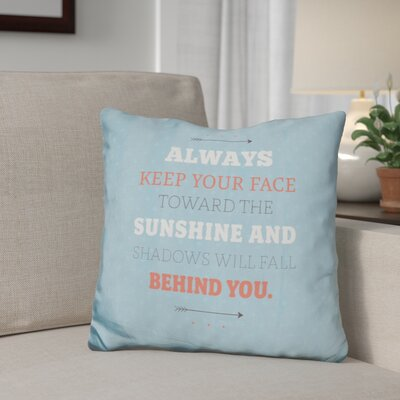 Gillies Sunshine Throw Pillow
