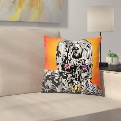 The Terminator Throw Pillow