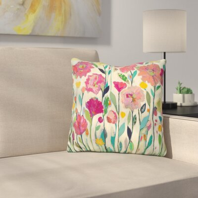 Massenburg She Lived in Full Bloom Throw Pillow