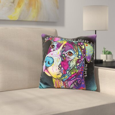 In A Perfect World Throw Pillow