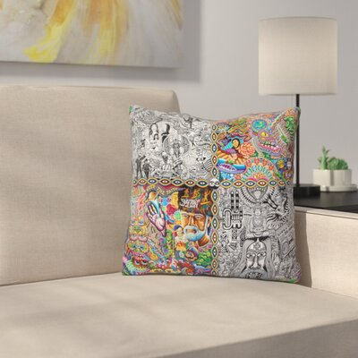Chaos Culture Jam Throw Pillow