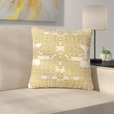 Pom Graphic Design and Empire Geometric Outdoor Throw Pillow Size: 16 H x 16 W x 5 D