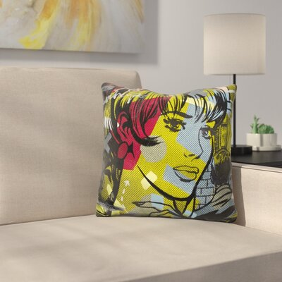 Man Hunter Throw Pillow