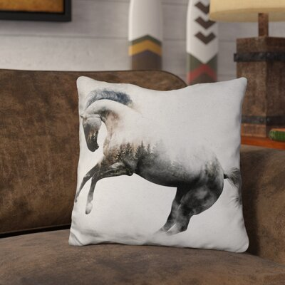 Leist Stallion Throw Pillow