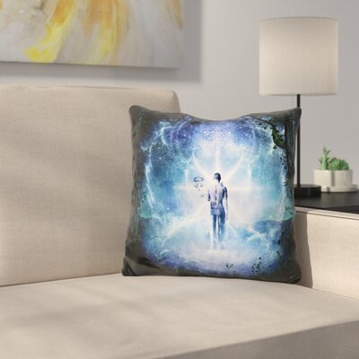 The Journey Begins Throw Pillow
