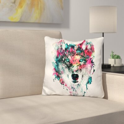 Wolf II Throw Pillow