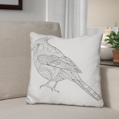 Glaser Bird Throw Pillow