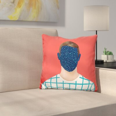 Crystal Face Throw Pillow