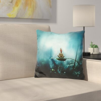 Temporary Peace Throw Pillow