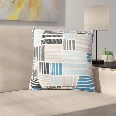 Mayton Patterned Square Outdoor Throw Pillow