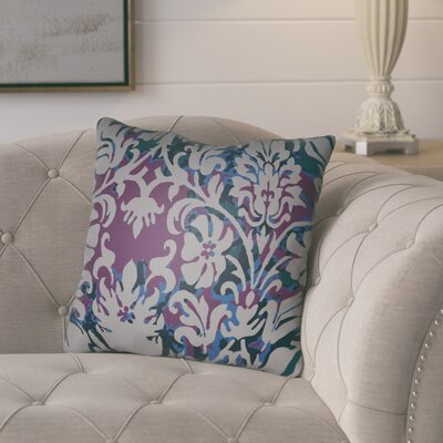 Amiyah Throw Pillow Size: 20 H x 20 W x 4 D, Color: Grey