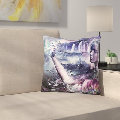 Nature Painter Throw Pillow