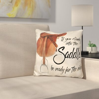 Gonsalves Ready for the Ride Throw Pillow