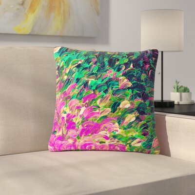Ebi Emporium Follow the Current 4 Outdoor Throw Pillow Size: 18 H x 18 W x 5 D