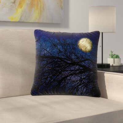 Sylvia Coomes Moon Celestial Outdoor Throw Pillow Size: 18 H x 18 W x 5 D