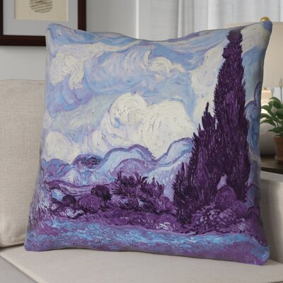 Morley Wheat Field with Cypresses Euro Pillow