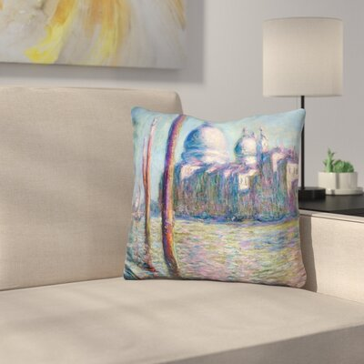 Le Grand Canal Throw Pillow