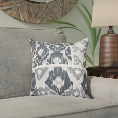 Meetinghouse Free Spirit Geometric Print Throw Pillow Size: 26 H x 26 W, Color: Gray