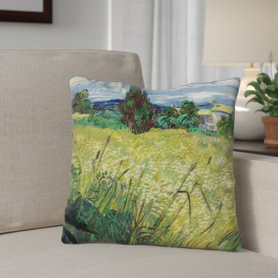 Giglio Wheat Field with Cypress Throw Pillow