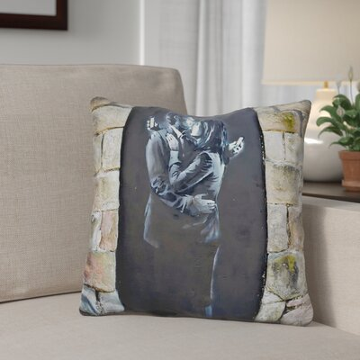 Berrien Mobile Phone Lovers Throw Pillow