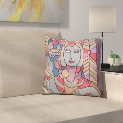 Deco Lady 512 Throw Pillow