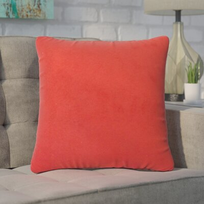 Carballo Solid Throw Pillow