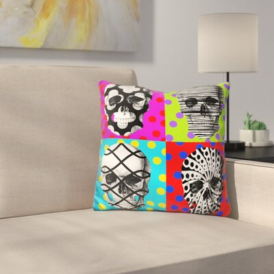 Four Heads Throw Pillow
