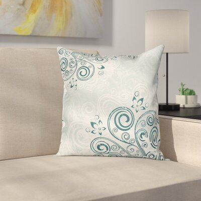 Floral Elegance Cushion Pillow Cover Size: 24 x 24