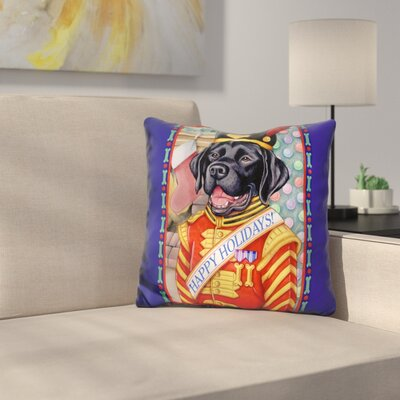 Lab Throw Pillow